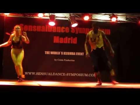 Antonio Bandeira & Francesca SENSUALDANCE SYMPOSIUM MADRID 2014