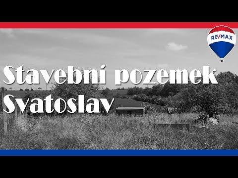 Video Prodej pozemku 2102 m², Svatoslav