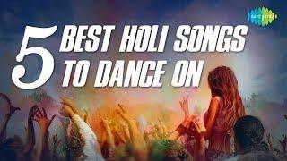 5 Best Holi Songs To Dance On | Ja Re Hat Natkhat |  Rang Barse | Ang Se Ang | Aaj Na Chhodenge