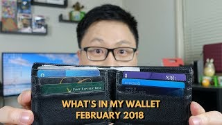 What's In My Wallet? February 2018 Edition