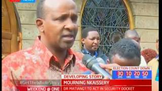 Majority leader Adan Duale narrates how the late Interior CS Joseph Nkaissery has brought peace
