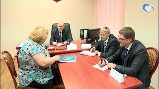 Новгородский омбудсмен и руководитель общественного совета при УМВД провели совместный прием граждан