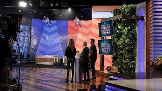 Ellen's Staff Members Play 'You Bet Your Wife'