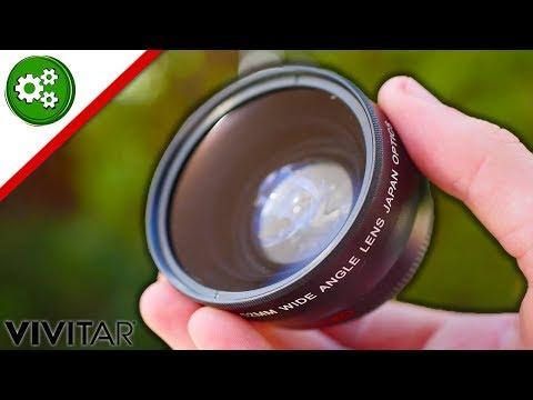 Vivitar 0.43x Wide Angle + Macro Lens Review