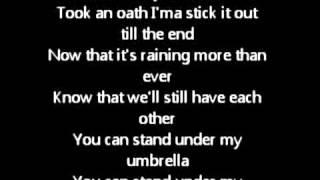 Rihanna   Umbrella Ft.Jay Z LYRICS Original