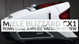 Miele PowerLine Blizzard CX1 Jubilee Cylinder Vacuum Cleaner REVIEW | Henry Reviews & AO.COM