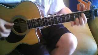 "James Taylor ""Copperline"" Guitar Lesson Part 1 ( REVISED )"