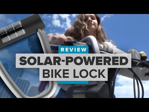 Lattis Ellipse review: Would you use a solar-powered, app-enabled bike lock?