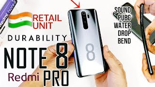 Redmi Note 8 Pro Durability Review - Most Powerful 15k Phone   Why is it a Partial fail?