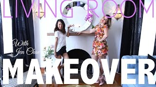 Living Room Makeover with Jen Chae | Home Decor