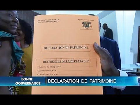 BONNE GOUVERNANCE ET DÉVELOPPEMENT, DÉCLARATION DE PATRIMOINE : 25 MAGISTRATS MEMBRES DE LA COUR DES COMPTES ONT PROCÉDÉ A LA DÉCLARATION DE LEUR PATRIMOINE, A LA HAUTE AUTORITÉ POUR LA BONNE GOUVERNANCE.