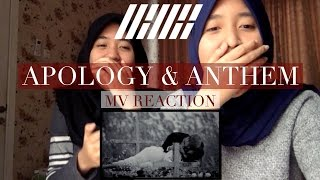 iKON - 지못미(APOLOGY) and 이리오너라(ANTHEM) - MV REACTION (Indonesia)