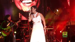Tessanne Chin sings Redemption Song, Live at Marley 70