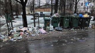 Возле детского сада №26 постоянно появляются огромные кучи мусора