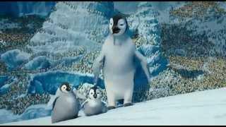 Happy Feet 2 Yodel Scene -  Freerunner Penguin