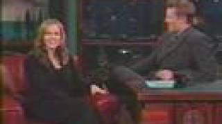 "Jennie dans ""The Late, Late Show with Craig Kilborn"" -"