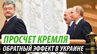 Просчет Кремля. Обратный эффект в Украине