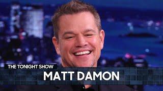 Matt Damon on Co-Writing with Ben Affleck Again Post-Good Will Hunting | The Tonight Show