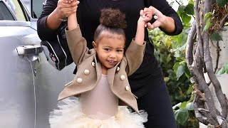 North West Tells Photogs At Ballet: 'I Said No Pictures!'