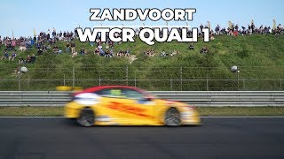 WTCR Zandvoort Quali 1 for Tom Coronel at his home track with the Honda Civic Type R