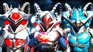 Injustice 2 - Black Manta All Epic Gear Sets / All Shaders