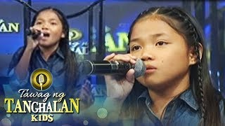 Tawag ng Tanghalan Kids: Lorraine sings her own version of 'Ikaw'