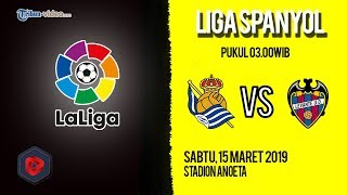 Live Streaming dan Jadwal Laga Real Sociedad Vs Levante di HP via MAXStream beIN Sports