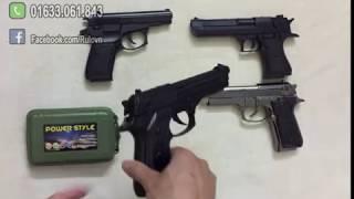 Rulovn - Giới thiệu thêm 1 mẫu bật lửa súng kim loại mới M9 - Siêu đẹp, siêu độc đáo
