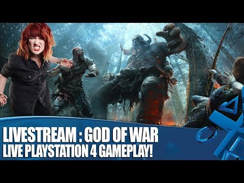 Livestream: God of War – Live PS4 Gameplay!