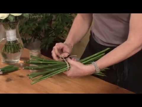 Triangle Nursery - Spiral flower arranging technique - YouTube