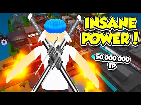 I Reached 50,000,000 POWER In The NEW SUPER POWER TRAINING SIMULATOR!! (Roblox)