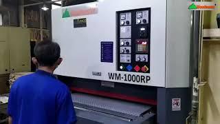 Chà nhám thùng Woodmaster tải nặng mặt bàn rộng 1 mét | WM-1000PR