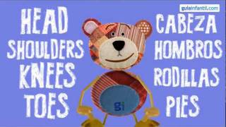 Head, shoulder, knees and toes. Aprende inglés con canciones para niños