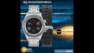 d688aaf86 RELÓGIO SMARTWATCH TECHNOS CONNECT DUO MASCULINO P01AA/1P - Relógios de  Fábrica