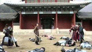 [HIT]왕의얼굴-서인국, 왜군 조총 맞고 쓰러졌다!.150101