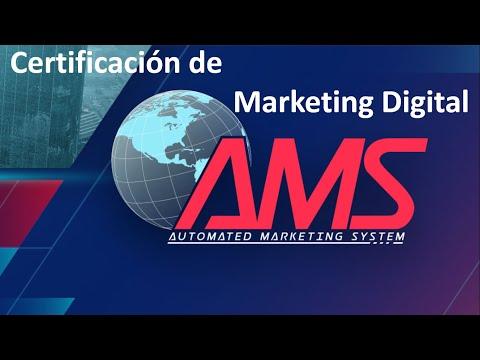 AMS Certificacion De Marketing Digital