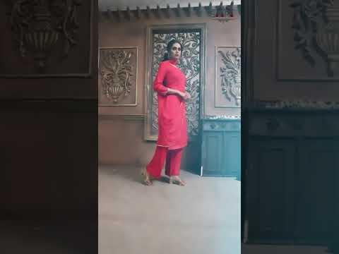 Ladies Red Designer Kurti With Palazzo