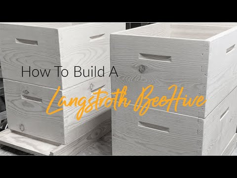 , title : 'How to Build a Langstroth Hive - 8 Frame Bee Hive