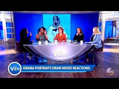 Obama's Portraits Unveiling Controversy