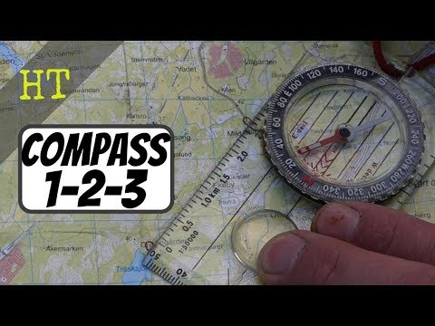 Learn Map & Compass in One Minute   Silva 1-2-3 System