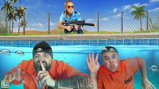Extreme Underwater Prison Escape Challenge!