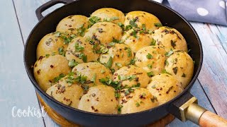 Cheesy Garlic Dough Balls Recipe: enjoy a tasty and delicious meal in 30 minutes!