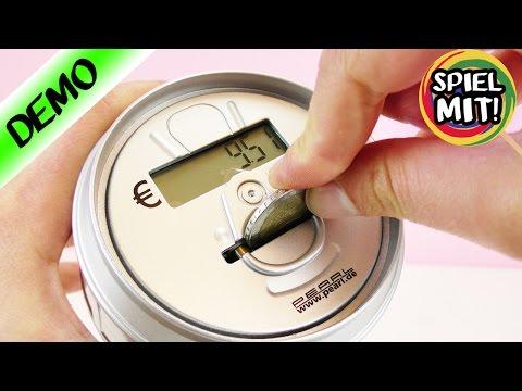 SPARDOSE für MATHE-HASSER | Intelligente elektronische Spardose zählt Geld | Super cool!