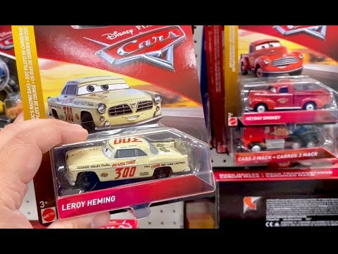 Disney Cars Toy Hunt - Getting Lucky Twice Finding Rare Disney Cars Again - Thomas & Friends Trains