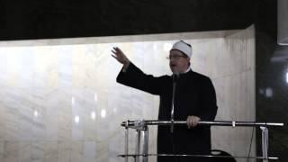 """خطبة الشيخ """" أسعد الحلبية -ابو اسامة -"""" في مسجد الدكتور محمد عياش 2"""