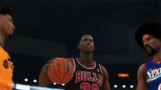 NBA 2K19 - EPIC Dunk Contest feat. Vince Carter, Michael Jordan, Julius Erving & Donovan Mitchell