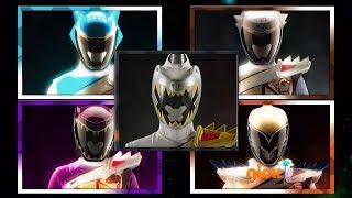 Power Rangers Official | Forever Sixth and Auxiliary Ranger Morphs |Mighty Morphin Super Ninja Steel