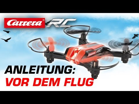 Carrera RC Quadrocopter - Vor dem Flug (Mini Race Copter)