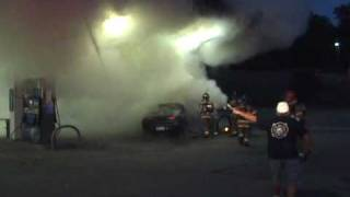 Exxon Quiet Dell, WV Gas Pump and Vehicle Fire 7/1/2010