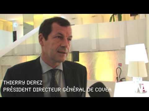 JT News Assurances : Thierry Derez, President directeur général de COVEA